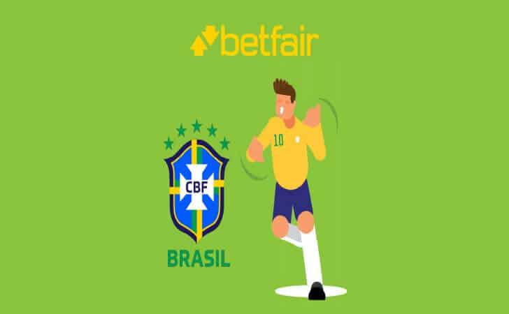 Betfair patrocinará Seleção Brasileira
