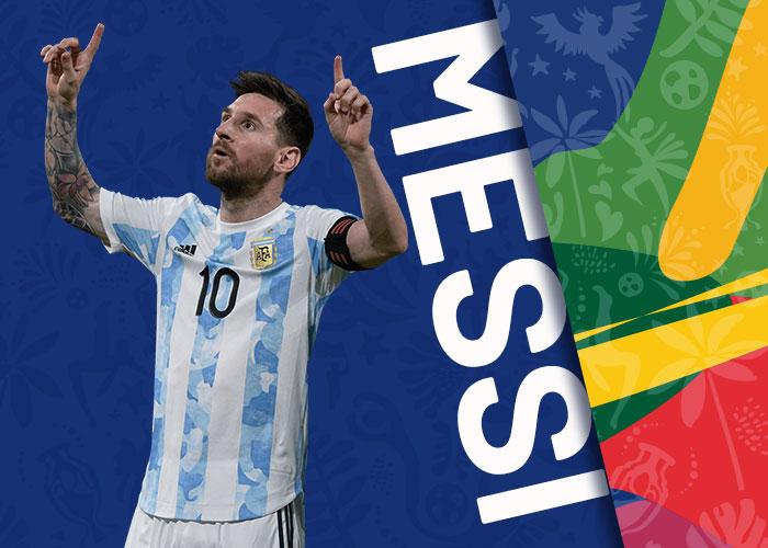 MESSI selecao argentina copa america 2021
