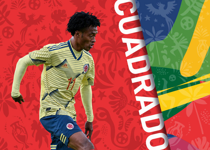 cuadrado colombia copa america 2021